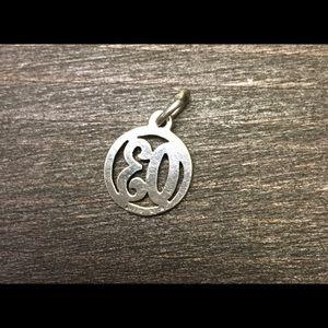 "James Avery Jewelry - James Avery retired ""03""  charm"